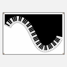 Piano Keyboard Banner