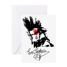 Beethoven Greeting Card