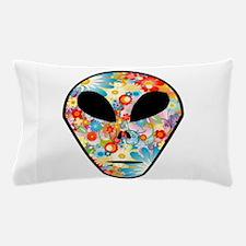 Cool Fun flowered Alien Pillow Case