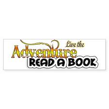 Reading Adventure Bumper Car Sticker