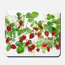 Ripe Strawberries from Provence Mousepad