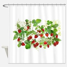 Ripe Strawberries from Provence Shower Curtain