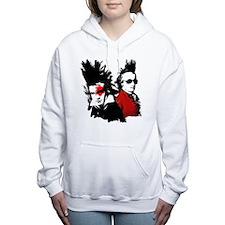 Beethoven Punk Women's Hooded Sweatshirt