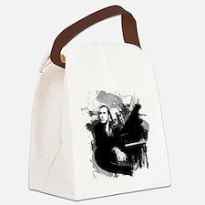Glenn Gould Canvas Lunch Bag