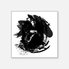 """Glenn Gould Square Sticker 3"""" x 3"""""""