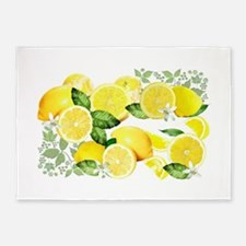 Acid Lemon from Calabria 5'x7'Area Rug