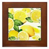 Lemon Framed Tiles
