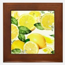 Acid Lemon from Calabria Framed Tile