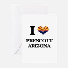 I love Prescott Arizona Greeting Cards