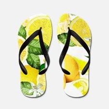 Acid Lemon from Calabria Flip Flops