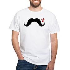 heart that mustache T-Shirt