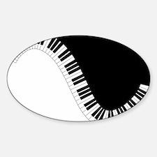 Piano Keyboard Decal