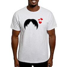 mustache lover T-Shirt