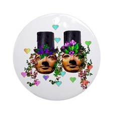 Marriage Goddesses Ornament (Round)