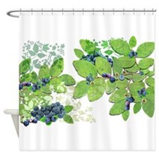 Blueberries from Nova Scotia Shower Curtain