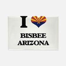 I love Bisbee Arizona Magnets