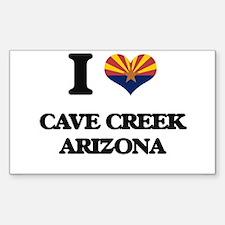 I love Cave Creek Arizona Decal
