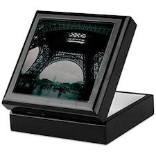 Cute Eiffel tower souvenir Keepsake Box