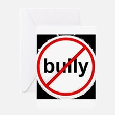 stop bullying Greeting Cards