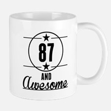 87 And Awesome Mugs