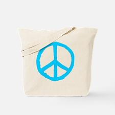 Rough Peace Symbol Tote Bag