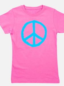 Rough Peace Symbol Girl's Tee