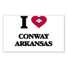 I love Conway Arkansas Decal