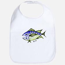 Tuna Abstract 3 fish Bib