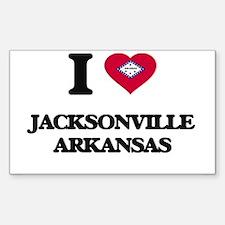 I love Jacksonville Arkansas Decal