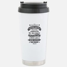 I'm A Green Stainless Steel Travel Mug