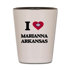 I love Marianna Arkansas Shot Glass