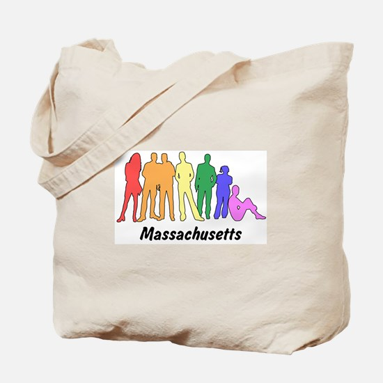 Massachusetts diversity Tote Bag
