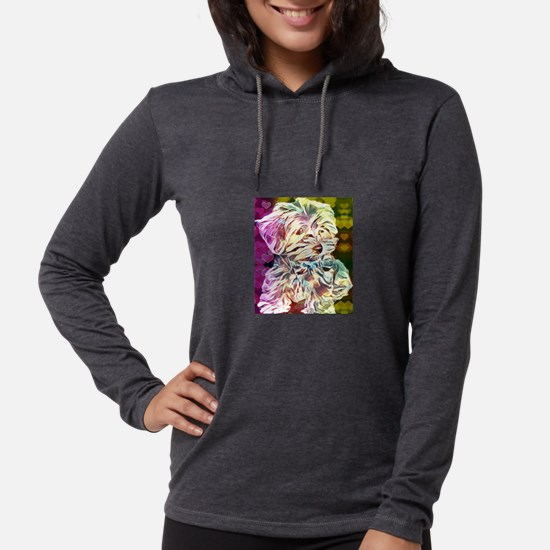 Baby Copper with hearts Long Sleeve T-Shirt
