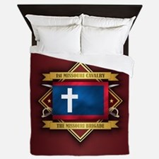 1st Missouri Cavalry Queen Duvet