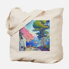 Capo di Noli by Paul Signac Tote Bag