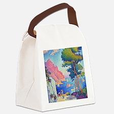 Capo di Noli by Paul Signac Canvas Lunch Bag