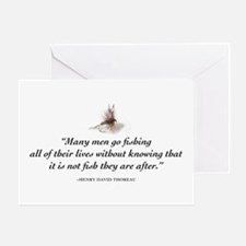 Why we fish Greeting Card