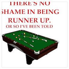 billiards joke Poster