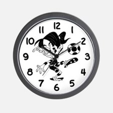 Soccer Time - Wall Clock