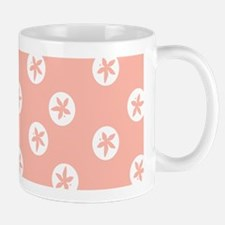 Sand Dollars on Rose Mugs