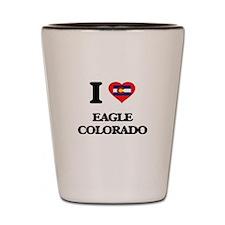 I love Eagle Colorado Shot Glass