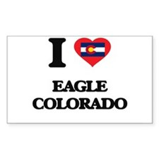 I love Eagle Colorado Decal