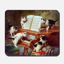 The Kittens Recital by Carl Reichert Mousepad