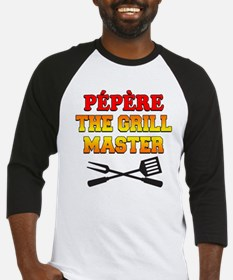 Pepere The Grill Master Baseball Jersey