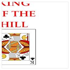 card player joke Poster
