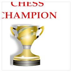 chess joke Poster