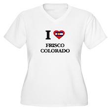 I love Frisco Colorado Plus Size T-Shirt