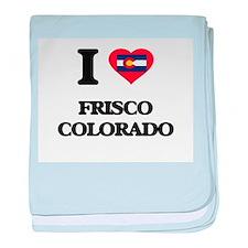 I love Frisco Colorado baby blanket