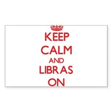 Keep Calm and Libras ON Decal