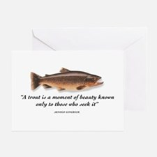 A trout is... Greeting Card
